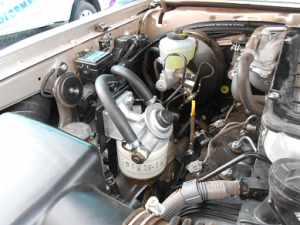 Land Cruiser 76 4.5 V8 engine