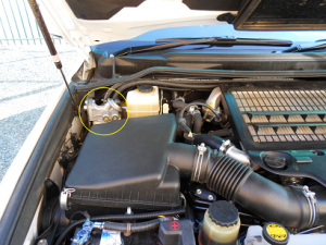 Land Cruiser VX200 4.5 V8 engine