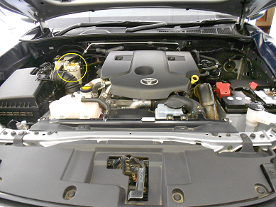 Toyota GD-6 with dual battery engine